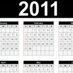 2011 Calendars – EPS/AI File