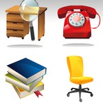 4 Office Related Icons