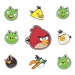 Angry Birds Vector Pack 01
