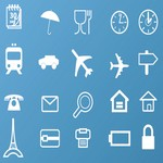 Travel & Business Vector Icon