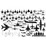 Airplane Silhouette – Aircraft