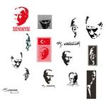Mustafa Kemal Atatürk Silüetleri