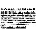 City Skyline Silhouette 01