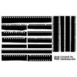 Film Strip Silhouettes