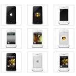 iPhone4 Icons [512×512 PNG – 12 File]