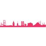 İstanbul Şehir Silüeti [EPS-AI-CDR-SVG-FH Files]