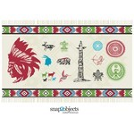 North American Native Elements [EPS File]