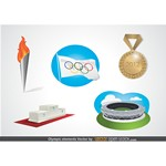 Olympic Elements Vector [EPS File]