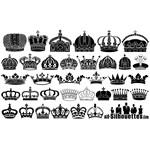 Royal Crown Silhouettes