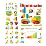 Statistic, Chart, Line Graph, Flow Diagram Symbols