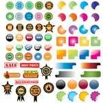 40+ Stickers [EPS File]