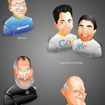 Quirky Icon Set: The Dream Geek Team [PNG File]