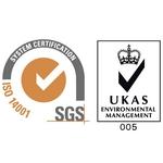 ISO 14001 Logo [SGS – UKAS]