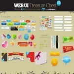 WEB UI Treasure Chest v 1.0 [PSD File]