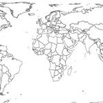 Vector World Map (Rectangular)