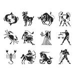 Zodiac Signs Silhouette
