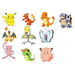 Pokemon characters vector
