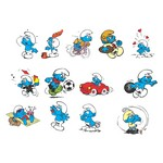 The Smurfs Characters Vector