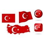 Turkey Symbols Collection [Türkiye Bayrakları – EPS File]