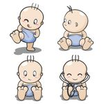 Cartoon Baby, Children, Kids