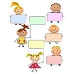Banner, Frame [Children, Kids, People]