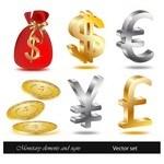 Financial icon vectors 01