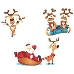 Cute Santa Vector 01 [EPS File]