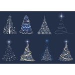 Abstract Christmas Tree Set