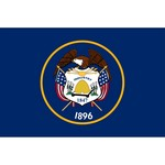Utah State Flag and Seal
