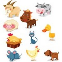 Cute cartoon animals 02
