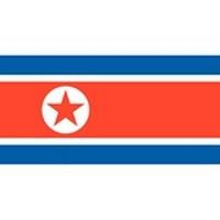 North Korea Flag and Emblem