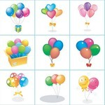 Birthday, Party, Balloon 01