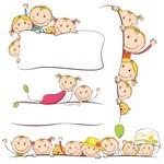 Cartoon Children, Kids, People 05
