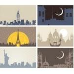 City Skyline Silhouette 04