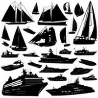 Ship Silhouettes 01
