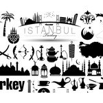 Turkey Istanbul Icons