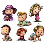 Cartoon Baby, Children, Kids 06