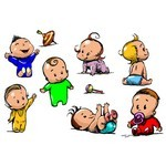 Cartoon Baby, Children, Kids 07