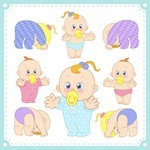 Cartoon Baby, Children, Kids 11