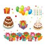 Birthday, Party, Balloon