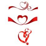 Ribbon, Heart 02