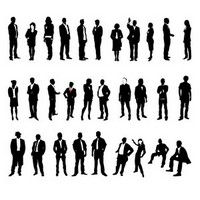 Business People Silhouettes 02