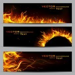 Banner 22 [Flame, decorative, background]