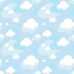 Pattern Cloud Background