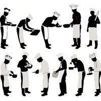 Chef Silhouettes 01