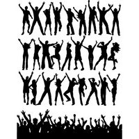 Party People Silhouettes 01