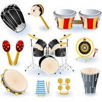 Musical Instruments – Drums Collection