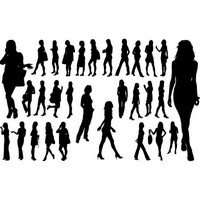 Common women silhouettes