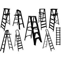 Ladder silhouette