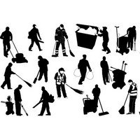 Sweeper silhouettes